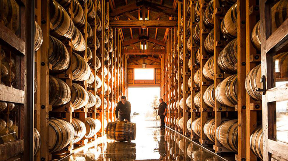 Frey Ranch Estate Distillery Barrels