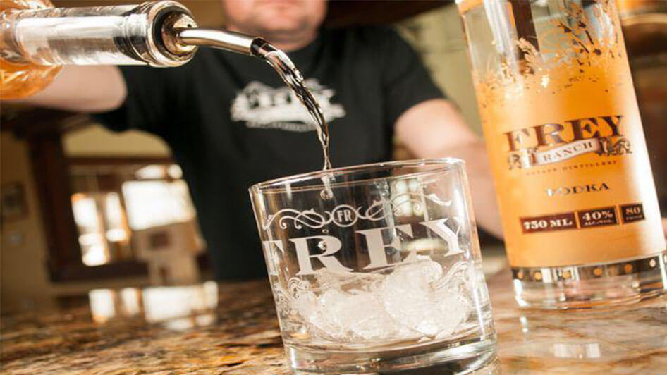 Frey Ranch Estate Distillery Vodka