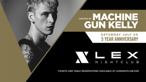 Lex Nightclub 5 Year Anniversary Flyer