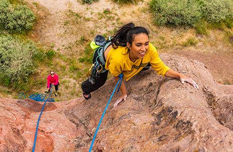 Rock Climbing Reno Pig Rock