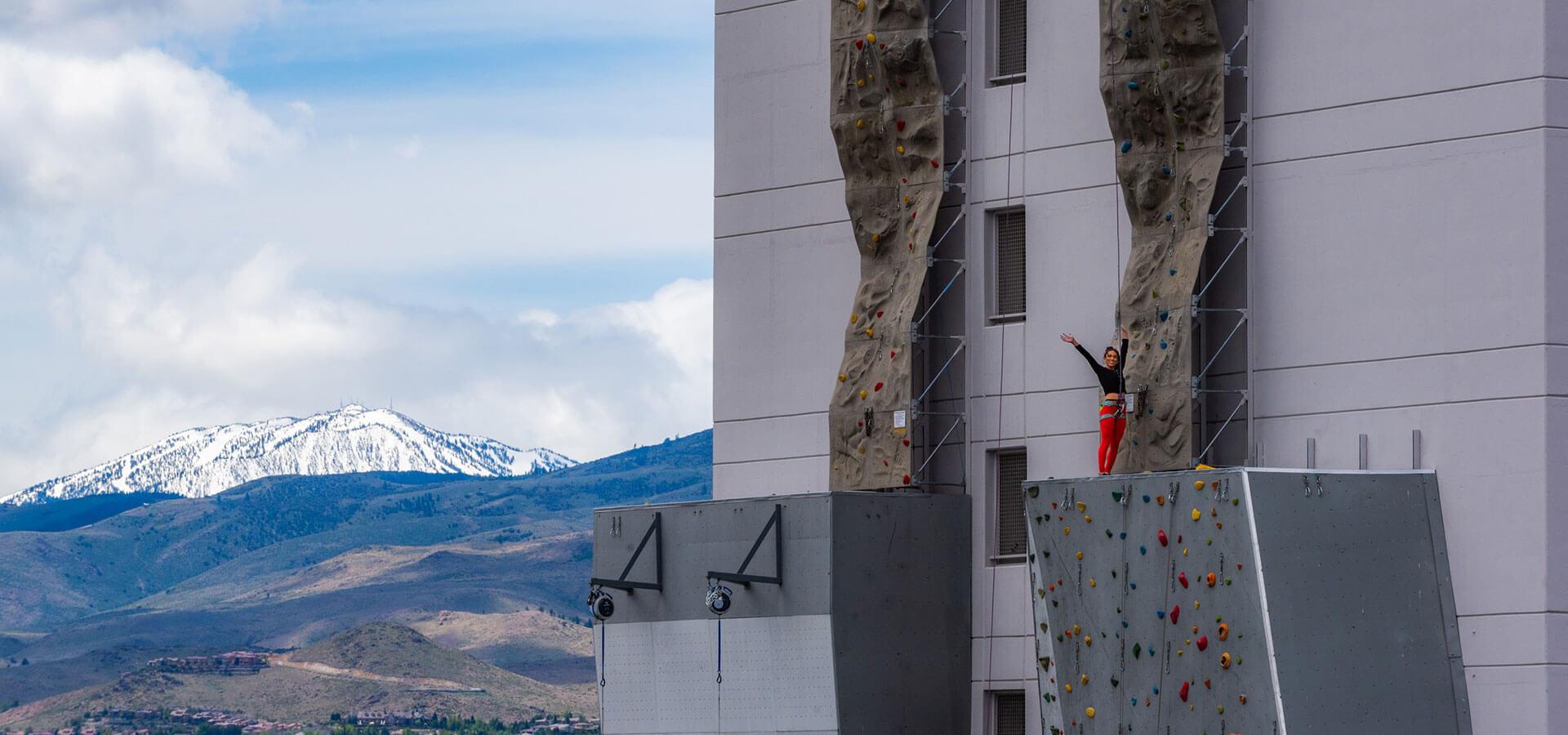 Whitney Peak Climbing Wall Downtown Reno