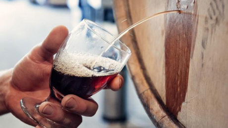 Tahoe Mountain Brewing Co. Barrel