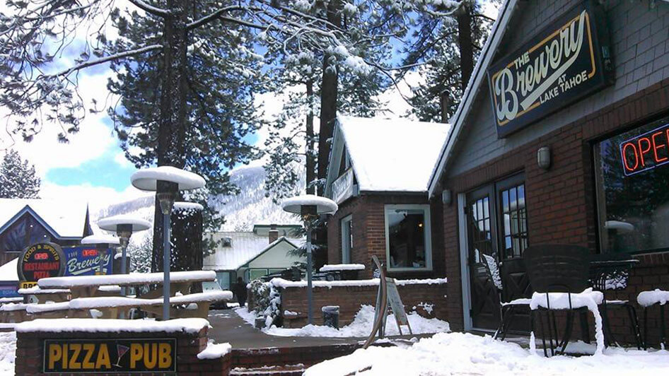 The Brewery at South Lake Tahoe in the Winter