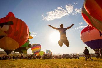 Alex Chacon Jump Great Reno Balloon Race