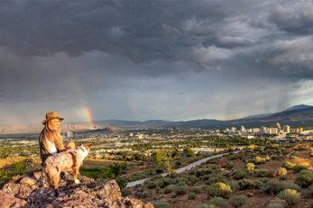 Reno Skyline Rainbow