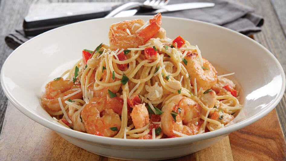 BJ's Restaurant and Brewhouse Pasta