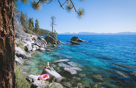 Lake Tahoe Swimming and Beaches