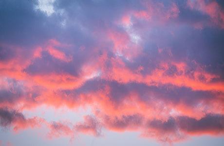 Sunset and Clouds Reno Lake Tahoe