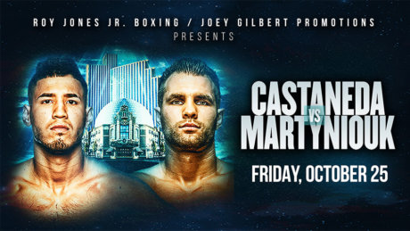 Live Boxing- Castaneda vs. Martyniouk--Silver Legacy Casino Resort at THE ROW