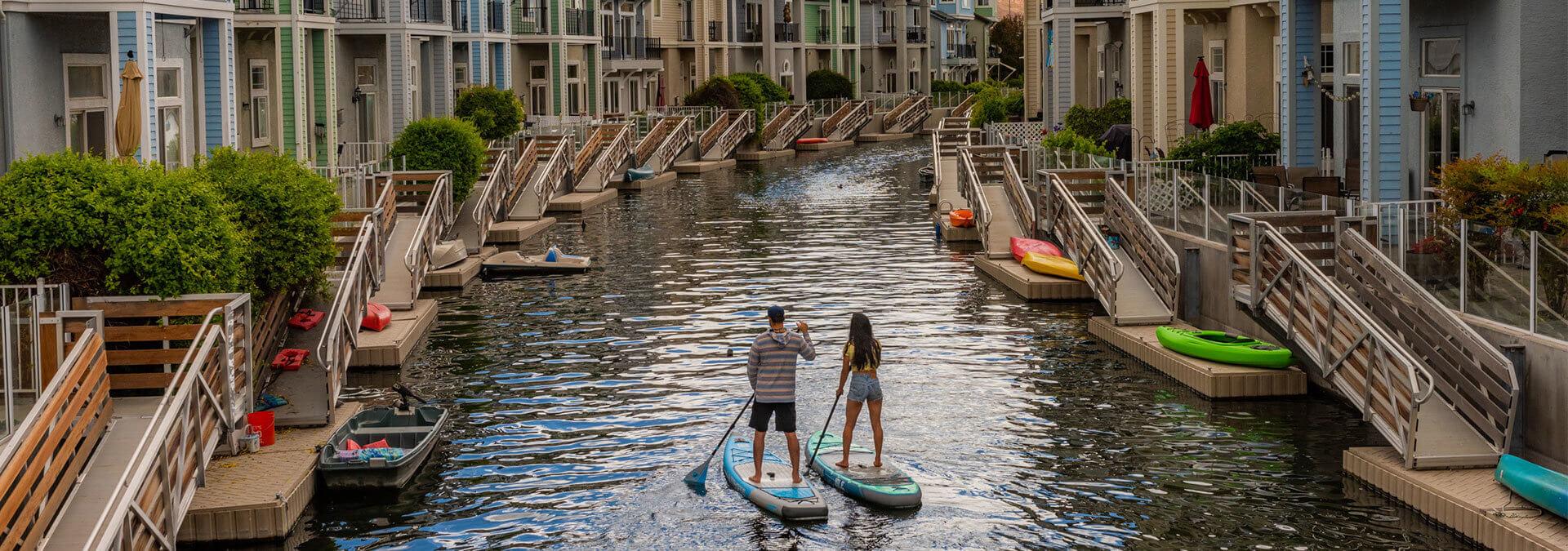 Paddleboard Sparks Marina