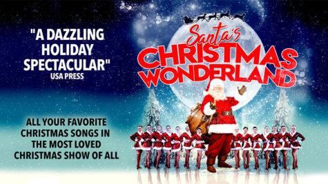 Santas Christmas Wonderland show- Eldorado Resort Casino at THE ROW