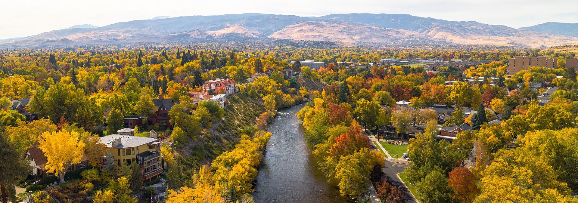 Fall Reno Tahoe Sierra Nevada Foothills