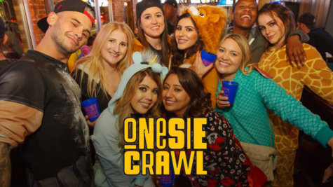 Reno Onesie Crawl 2020, Downtown Reno