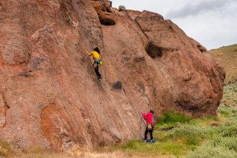 Rock Climbing Reno Northern Nevada