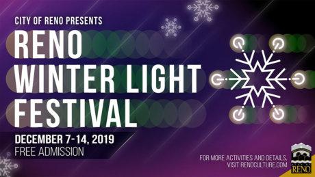 Reno Winter Light Festival Tree Lighting