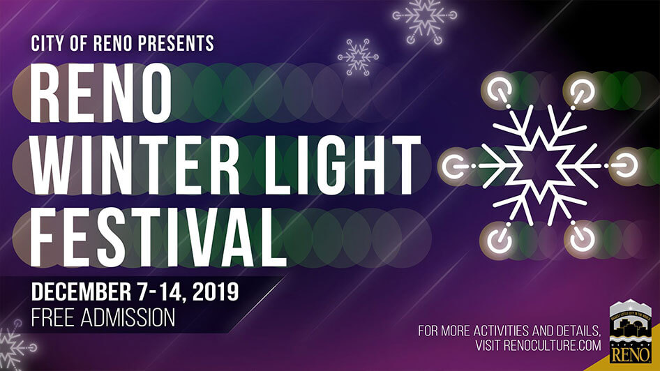 Reno Winter Light Festival Tree Lighting